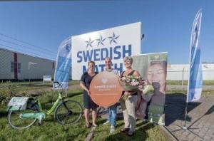 De actie ging van start bij Swedish Match in Assen. © Gemeente Assen