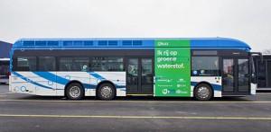 Qbuzz loopt voorop met de invoering van waterstofbussen. © Qbuzz