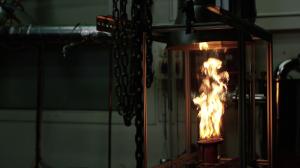 Demonstratiemodel in lab ijzerverbranding. © Noord-Brabant